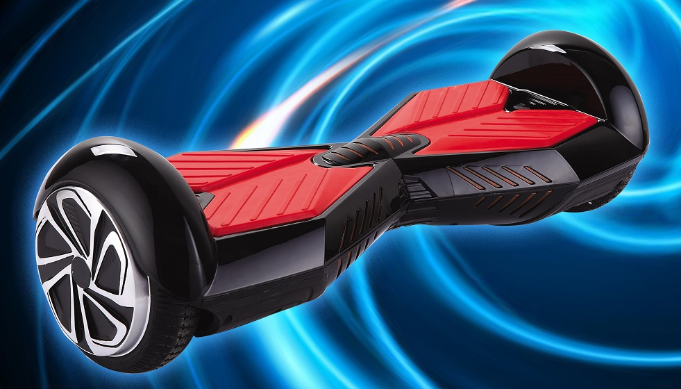 D1 Black Red Drifter - Hover Board, Drifter, 2 speed, Remote control, free Carrying bag