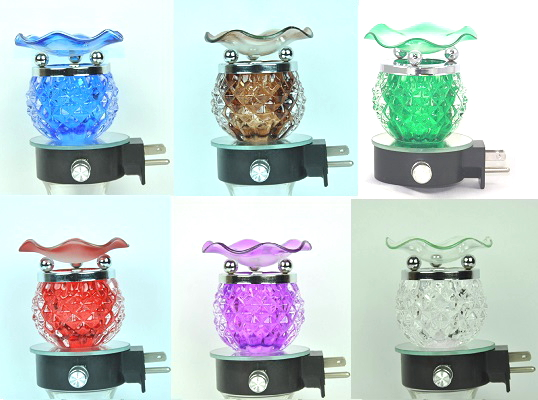 EB-011 Assort ONLY Available Colors  12PC - Pineapple Wall Plug in Oil Burner