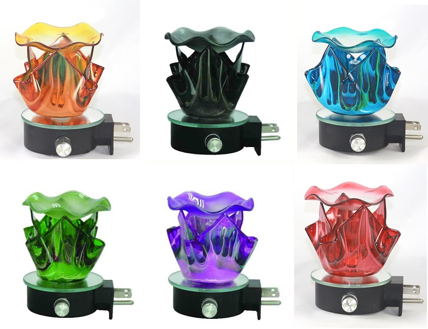 EB-470 Assort ONLY Available Colors  12PCS - Wall Plug in burner assort available colors
