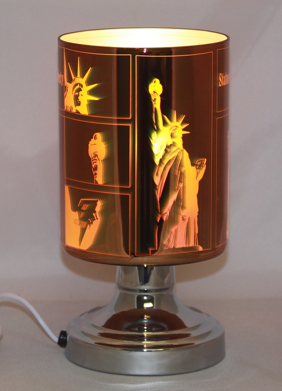 "ED-349 3D Statue of Liberty - New 3D Electric burners, very nice looking. 9""H X 4.5""W, 4pcs per case"