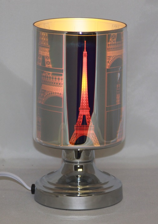 "ED-350 3D Eiffel Tower - New 3D Electric burners, very nice looking. 9""H X 4.5""W, 4pcs per case"