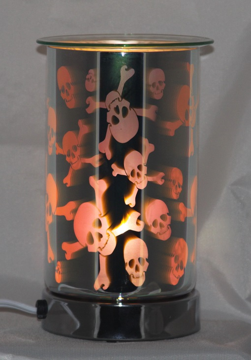 ED-354 Skulls - Turn on and off by touch, 2 brightness levels, 4 pcs per case