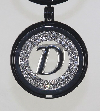 EDC-L22D - Large Medallion Coin, fits Large Dream Catcher locket