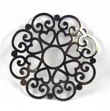 EDC-LC02SIL - Large Catcher fits Large Dream Catcher Locket