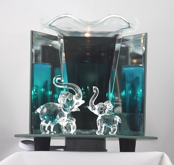 EF-898 Elephant family - Elephant Family Electric Oil Burner with 3 side mirrors