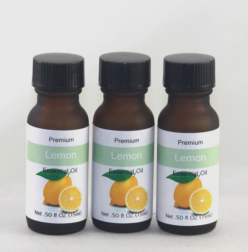 Lemon 1/2 OZ Essential Oil - Half OZ Essential Oils, only use a couple of drops at a time