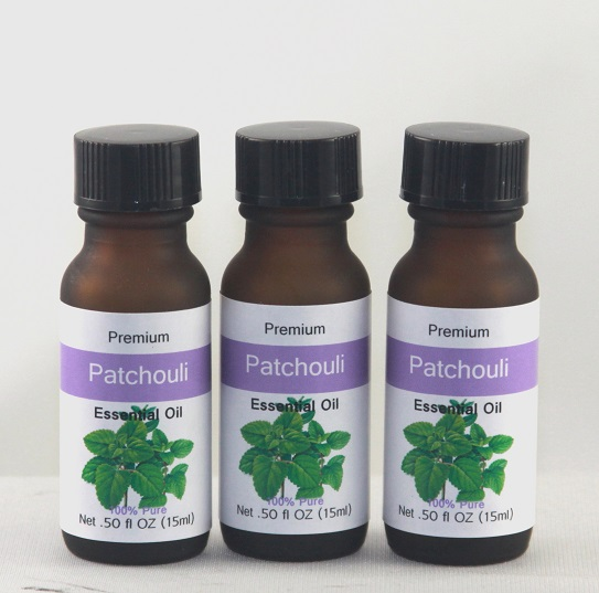 Patchouli 1/2 OZ Essential Oil - Half OZ Essential Oils, only use a couple of drops at a time