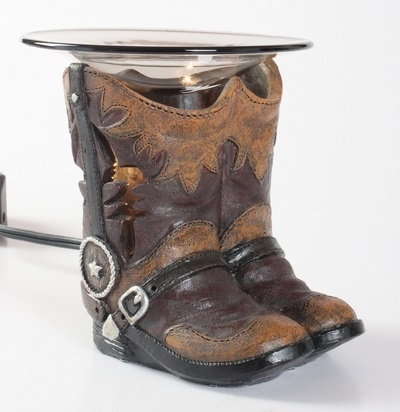 EP-155 Boots - Poly Resin Electric Oil Burner/fragrance lamp. Price is each pc, its packed 6 pcs to a case.