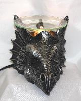 EP-159 Dragon Head - Poly Resin Electric Oil Burner/fragrance lamp. Price is each pc, its packed 4 pcs to a case.