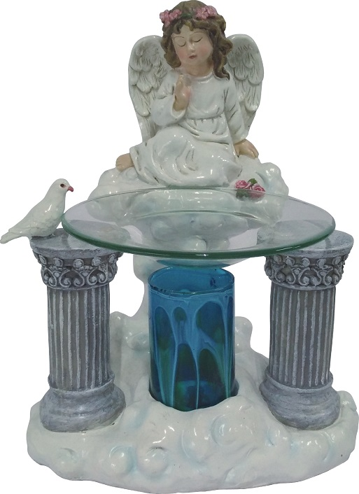 EP-164 Cherub - Poly Resin Electric Oil Burner/fragrance lamp. Price is each pc, its packed 4 pcs to a case.