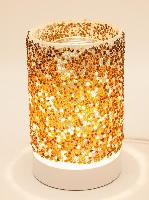 ET-343 Yellow/Brown Beads - Beaded Mosaic Touch Burner, 12 pcs per case