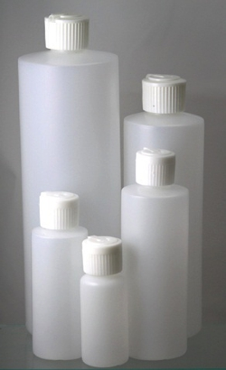 EBL 8 oz plastic bottle with caps - Plastic 8 oz 1 gross