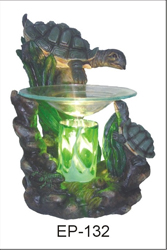 EP-132 TURTLES - Poly Resin Electric Oil Burner/fragrance lamp. Price is each pc, its packed 4 pcs to a case.
