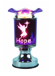 ET-359 - HOPE ELECTRIC OIL BURNERS, TURNS ON AND OFF BY TOUCH, 12PCS PER CASE.