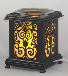 EW-746 - WHOLESALE ONLY ELECTRIC OIL BURNER. ALUMINUM METAL. DIMMER SWITCH IS ON THE CORD TO ADJUST THE BRIGHTNESS OF THE LAMP. CAN BE USED AS A NIGHT LIGHT OR OIL LAMP.