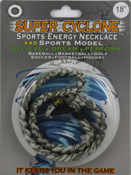SEN08 CAMOFLAGE  SPORTS ENERGY NECKLACE - SUPER CYCLONE SPORTS ENERGY NECKLACE, GREAT RETAIL VALUE!